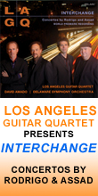 LA Guitar Quartet – Interchange